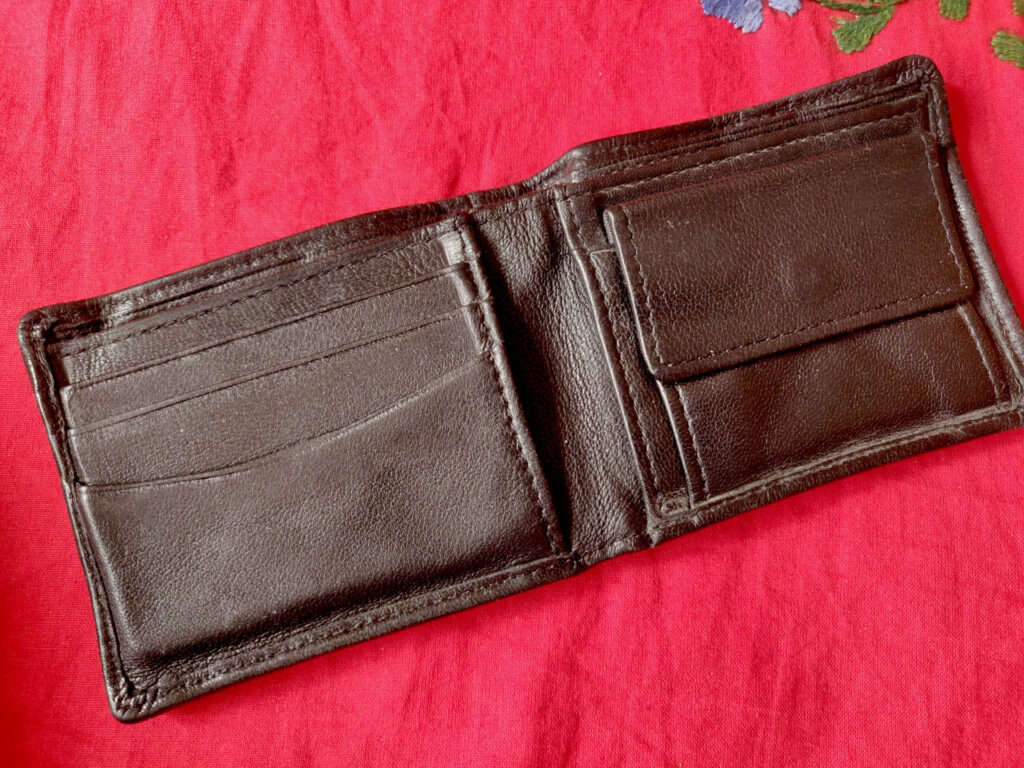 Picture of a used wallet